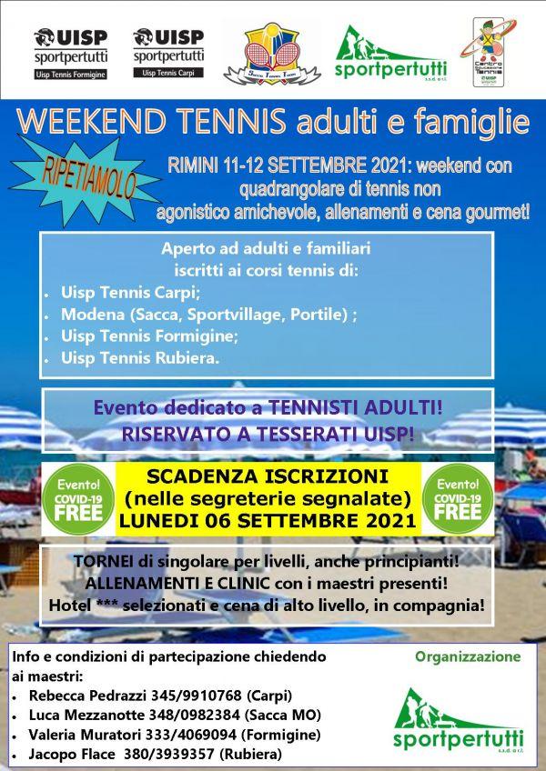 rimini settembre tennis