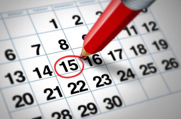 calendario festività